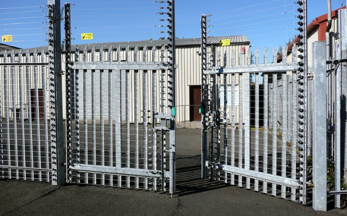 Electric Fence Gates - Perimeter Access Gate Types