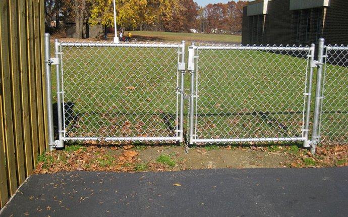 Install Chain Link Fence Gate Latch — Fence Ideas Fence Ideas