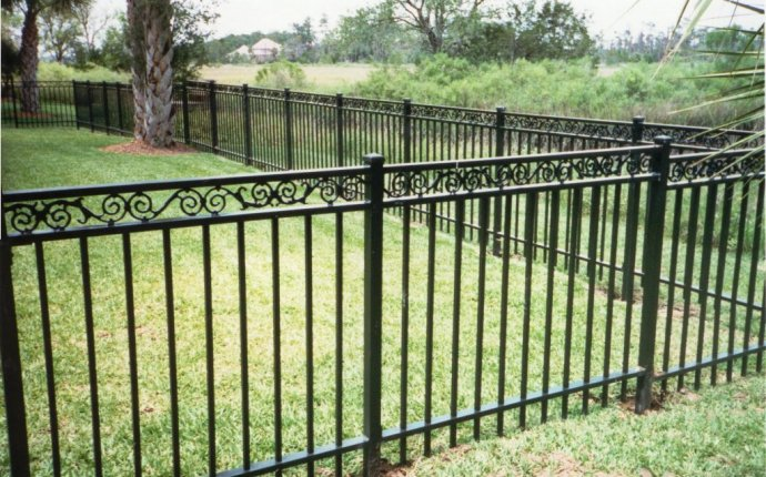 Wrought Iron Fence Repair   Unique-shaped Decoration Fence