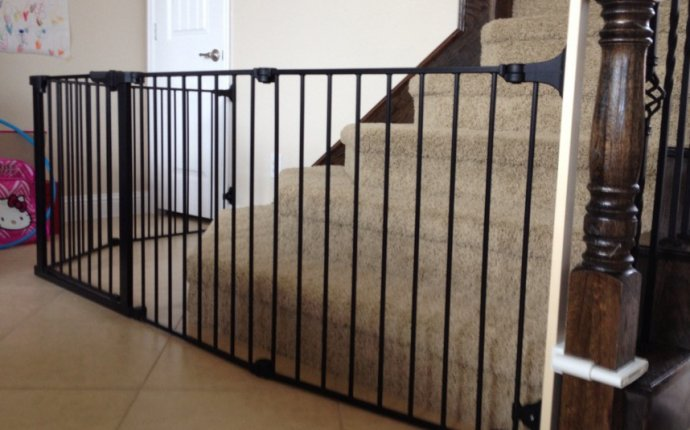 Baby gate installation