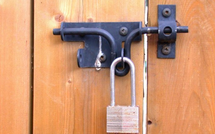 install gate latch